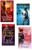 Book Cover Image. Title: Richelle Mead Dark Swan Bundle:  Storm Born, Thorn Queen, Iron Crowned & Shadow Heir, Author: Richelle Mead
