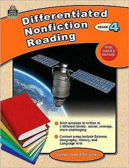 Differentiated Nonfiction Reading, Grade 4