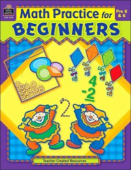Math Practice For Beginners Pre K and K