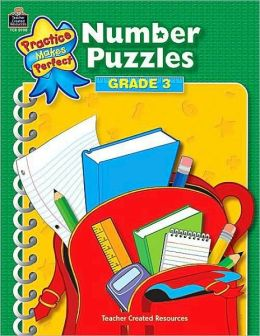Number Puzzles: Grade 3 (Practice Makes Perfect Series)
