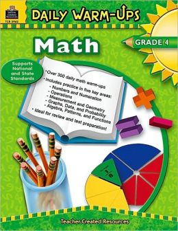 Daily Warm-Ups Math: Grade 4