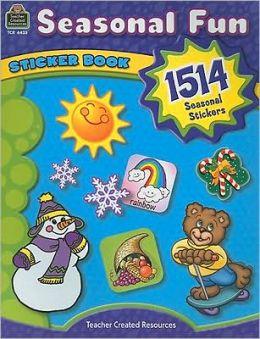 Seasonal Fun Sticker Book