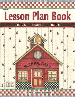 School Days Lesson Plan Book