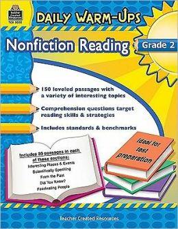 Daily Warm-Ups: Nonfiction Reading, Grade 2