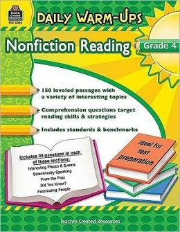 Daily Warm-Ups: Nonfiction Reading, Grade 4