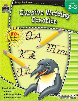 Cursive Writing Practice (Grade 2-3)