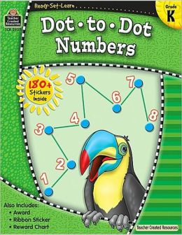 Dot to Dot Numbers (Grade K)