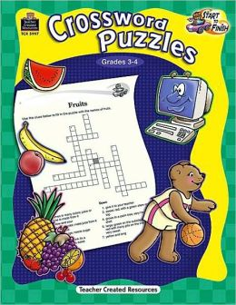 Start to Finish: Crossword Puzzles Grades 3-4