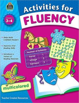 Activities for Fluency (Grade 3-4)