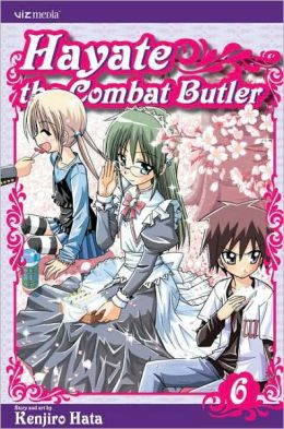 Hayate the Combat Butler, Volume 6