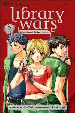 Library Wars: Love & War, Volume 2