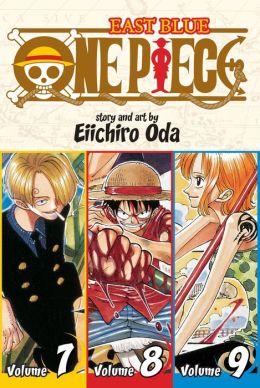 One Piece: East Blue 7-8-9, Volume 3 (Omnibus Edition)