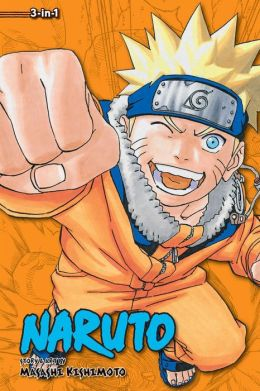 Naruto (3-in-1 Edition), Volume 6