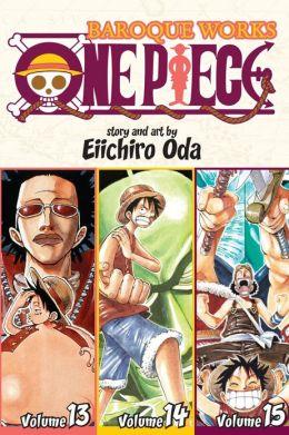 One Piece: Baroque Works 13-14-15, Volume 5 (Omnibus Edition)