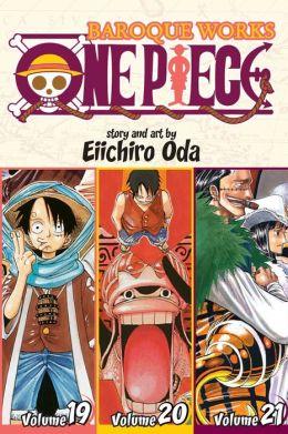 One Piece: Baroque Works 19-20-21, Volume 7 (Omnibus Edition)