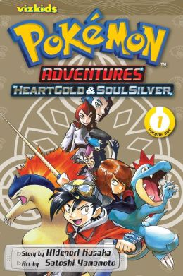 Pokemon Adventures: Heart Gold Soul Silver, Volume 1