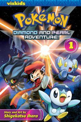 Pokemon Diamond and Pearl Adventure!, Volume 1