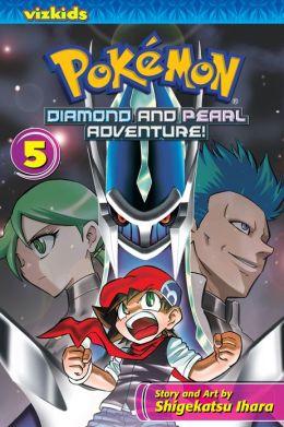 Pokemon Diamond and Pearl Adventure!, Volume 5