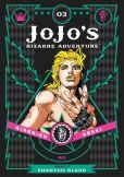 Book Cover Image. Title: JoJo's Bizarre Adventure:  Part 1--Phantom Blood, Vol. 3, Author: Hirohiko Araki