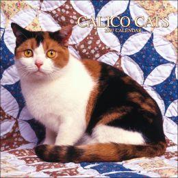 2007 Calico Cats Square Wall Calendar