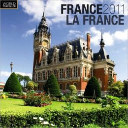 2011 France Square Wall Calendar