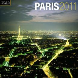2011 Paris Square Wall Calendar