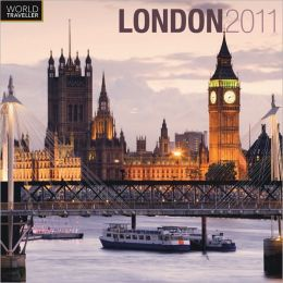 2011 London Square Wall Calendar