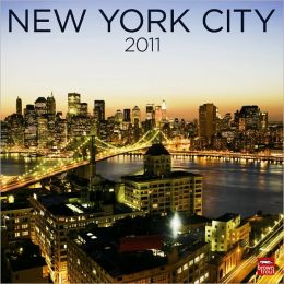 2011 New York City Square Wall Calendar