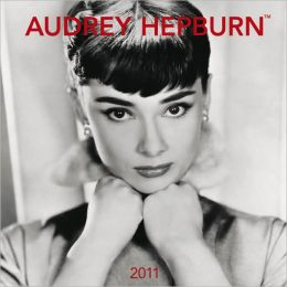 2011 Audrey Hepburn FACES Square Wall Calendar