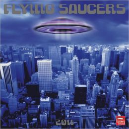 2011 Flying Saucers Square Wall Calendar