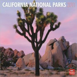 2011 California National Parks Square Wall Calendar