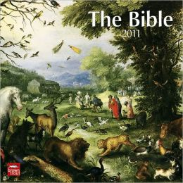 2011 Bible, The Square Wall Calendar