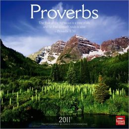 2011 Proverbs Square Wall Calendar