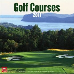 2011 Golf Mini Wall Calendar