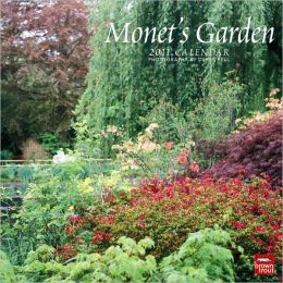 2011 Monet's Garden Square Wall Calendar