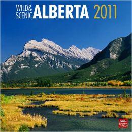 2011 Alberta, Wild & Scenic Square Wall Calendar