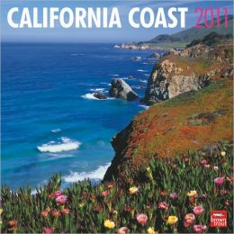 2011 California Coast Square Wall Calendar