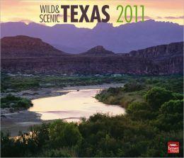 2011 Texas, Wild & Scenic Deluxe Wall Calendar