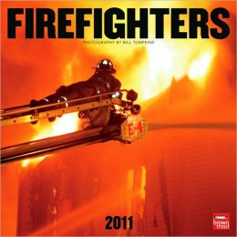 2011 Firefighters Square Wall Calendar