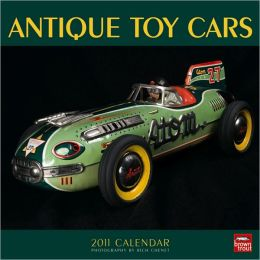 2011 Antique Toy Cars Square Wall Calendar