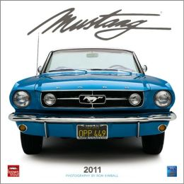 2011 Mustangs Square Wall Calendar