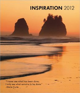 Inspiration 2012 Hardcover Weekly Engagement