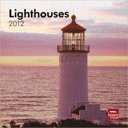 Lighthouses 2012 7X7 Mini Wall