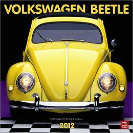 2012 Volkswagen Beetle Square 12X12 Wall Calendar