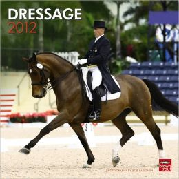 2012 Dressage Square 12X12 Wall Calendar