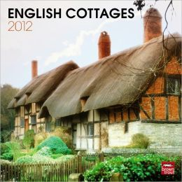 2012 English Cottages Square 12X12 Wall Calendar