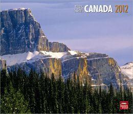 2012 Canada, Wild & Scenic Deluxe Wall Calendar