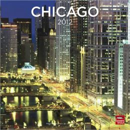 2012 Chicago Square 12X12 Wall Calendar