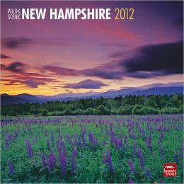 2012 New Hampshire, Wild & Scenic Square 12X12 Wall Calendar