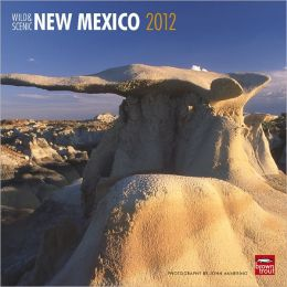 2012 New Mexico, Wild & Scenic Square 12X12 Wall Calendar
